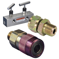 Hydraulic Couplers Fittings and Manifolds